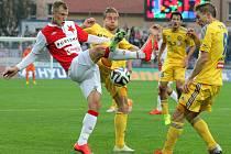Slavia v Jihlavě nevyhrála už pětkrát v řadě.