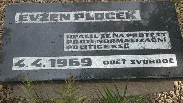 Evžen Plocek se v roce 1969 upálil na protest proti okupaci Československa a normalizaci, obdobně jako Jan Palach