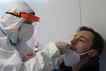 Na koronavirus testuje své zaměstance také jihlavská pobočka GLS.