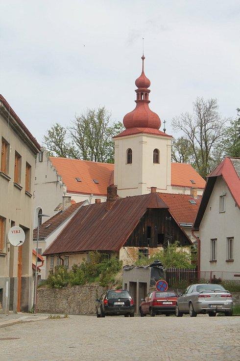 Kostel svatého Martina v Třešti.