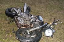 Tragická nehoda se stala na křižovatce ulic Rantířovská a Žižkova v Jihlavě.