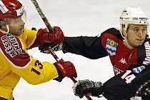 Prvoligoví jihlavští hokejisté vstoupili do play off úspěšně, po dvou domácích zápasech vedou v předkole nad Havířovem 2:0. Obě utkání však přinesla vyrovnaný boj, nouze nebyla o tvrdé souboje ani dramatické momenty před oběma brankami.