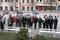 Uctění památky Evžena Plocka čtyřicet let od jeho úmrtí