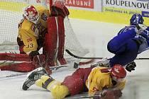 V sobotu byla na jihlavském zimním stadionu k vidění řada zajímavých situací. Po dramatické koncovce se nakonec z důležitých tří bodů radovali hokejisté jihlavské Dukly.