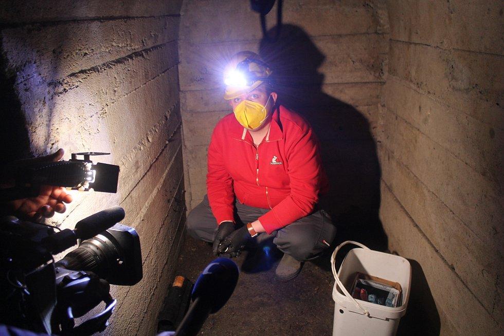 Deratizace se provádí i v jihlavském podzemí.