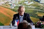 Návštěva prezidenta republiky v Kraji Vysočina v roce 2017. Prezident Miloš Zeman v Jaderné elektrárně Dukovany.