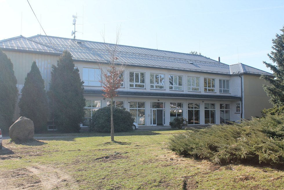Základní škola je nově rekonstruovaná, šlo o nákladný projekt.