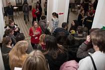 Den otevřených dveří na Vysoké škole polytechnické Jihlava využili nejen studenti středních škol.
