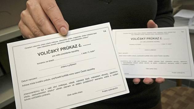 Přímé prezidentské volby se v České republice konají poprvé v historii. První kolo se bude konat 11. a 12. ledna, druhé kolo potom o čtrnáct dní později, 25. a 26. ledna.