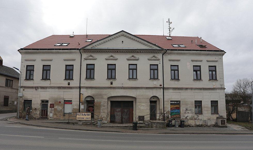 Objekt bývalé poštovní stanice.
