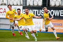 Fotbalisté FC Vysočina Jihlava, ilustrační foto.