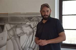 Dva výtvarníci z francouzské Remeše jsou na rezidenčním pobytu v Telči.