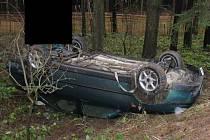 Lehké zranění si odnesl řidič osobního vozu Seat, který havaroval nedaleko obce Smrčná na Jihlavsku.