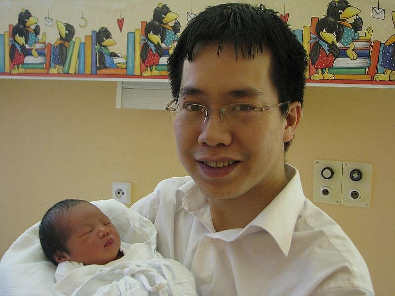 Anh Hoang Nguyen, 10. 1. 2011, 2650 g, 46 cm, Třešť