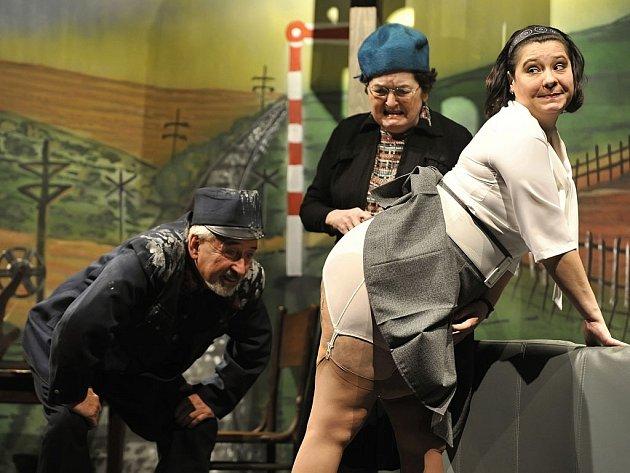 Na malé scéně Horáckého divadla ožijí již v sobotu postavy z Hrabalova díla, proslaveného oskarovým filmem Jiřího Menzela.