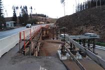 Kvůli stavbě obchvatu vzniká také mostní provizorium.