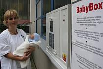 Babybox v jihlavské nemocnici.