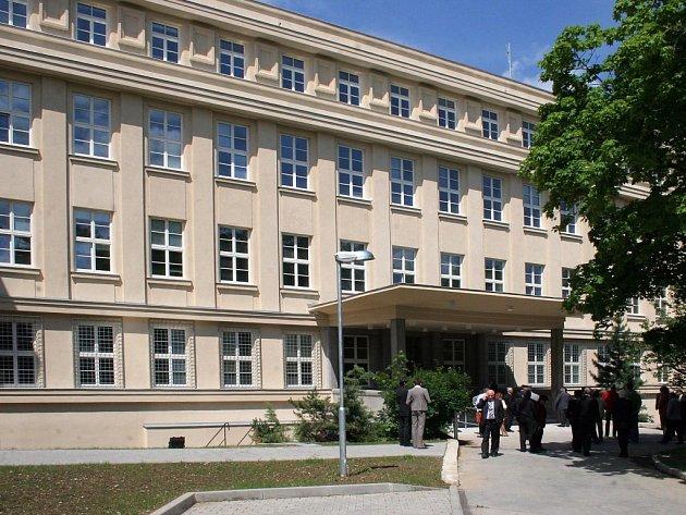 Nově zrekonstruovaná budova okresního soudu v Jihlavě.