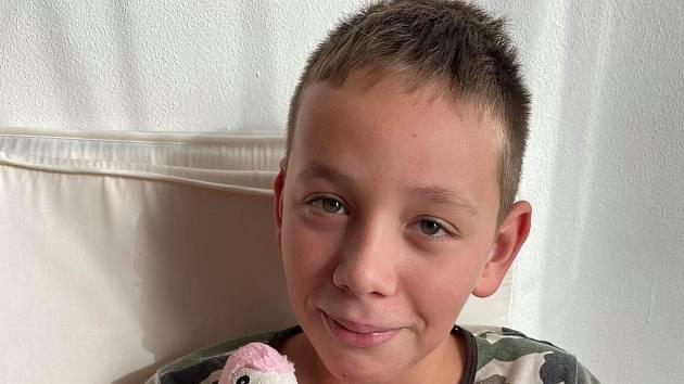 Desetiletý Štěpán trpí poruchou autistického spektra a mentální retardací.