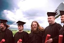 Rocková skupina Harlej hraje v tomto obsazení: Kolins, Libor Fanta, Tomáš Hrbáček, Tonda Rauer a Martin Volák (zleva). Na polenském koncertě zahrají ještě s kapelou Alkehol.