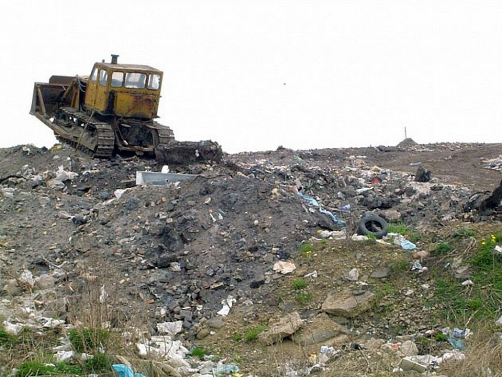 Skládka odpadu. Ilustrační foto.