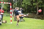 Maminky s kočárky, běžci, cyklisté i jezdci na koloběžkách. Ti všichni se v sobotu sešli v táboře u Rohozné na sedmém ročníku tradičního půlmaratonu.