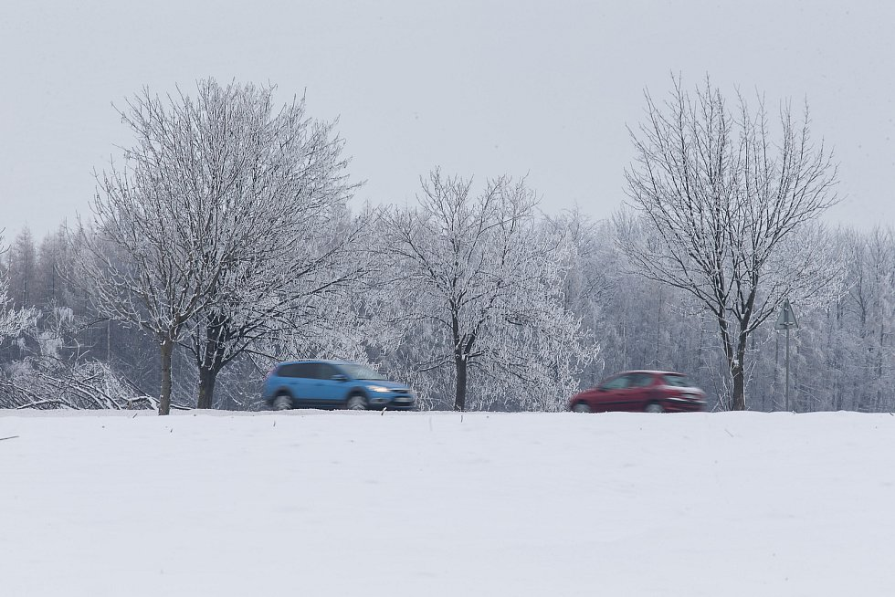 Zima na Havlíčkobrodsku.