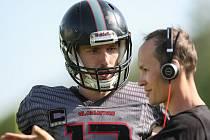 Trenér hráčů amerického fotbalu Vysočina Gladiators Ondřej Paulus svému týmu věří.