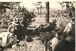 Rok 1944. Návštěva rodiny Reynkových.