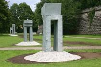 Sochař Jan Koblasa, který vytvoří díla pro budoucí park Gustava Mahlera v Jihlavě, dokončil práce na skulpturách pro německé město Forchheim (na snímku).