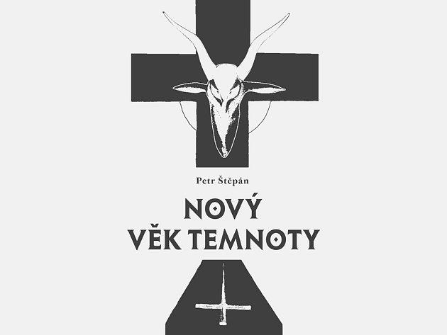 Na obálku knihy Petra Štěpána byl použit motiv jeho obrazu Rudý úsvit. Reprofoto.