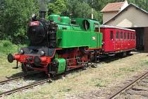 Milovníky železnice letos v rámci Léta s párou povozí parní lokomotiva 213.901.