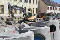 Opravy průtahu v Třešti vyjde podle odhadů zhruba na sto milionů korun.
