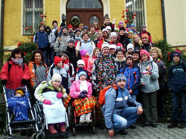 Děti ze Základních škol Komenského a speciální Nona vytvořily společný projekt.