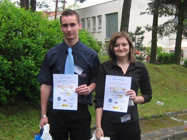 David Kahánek a Jana Pavelková.