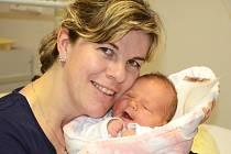 VANESA HRUŠKOVÁ se narodila 10. března 2013 ve 3:19 hodin s váhou 3335 a délkou 49 centimetrů. S rodiči Pavlínou a Michalem, a se sourozenci Tobiáškem (7 let) a Adriankou (5 let), bydlí v Bílé Třemešné.
