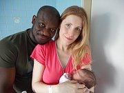 Aymerick Jonathan Hounnou z Náchoda se narodil 8. dubna 2019 ve 23,12 hodin. Chlapeček vážil 3530 gramů. Rodiče se jmenují Dana Josefiová a Roger Hounnou.