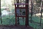 Stezka v lesoparku Montace se dočkala rozšíření.