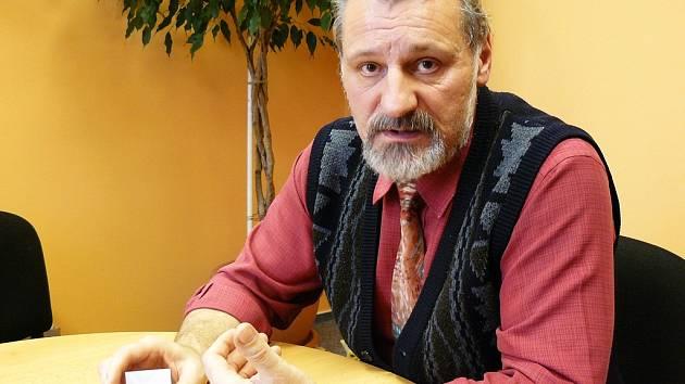 Ředitel Základní školy Krčín František Netušil.