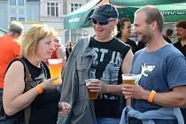 Druhý ročník letní lidové slavnosti Pivobraní se uskutečnil v Náchodě na Masarykově náměstí.