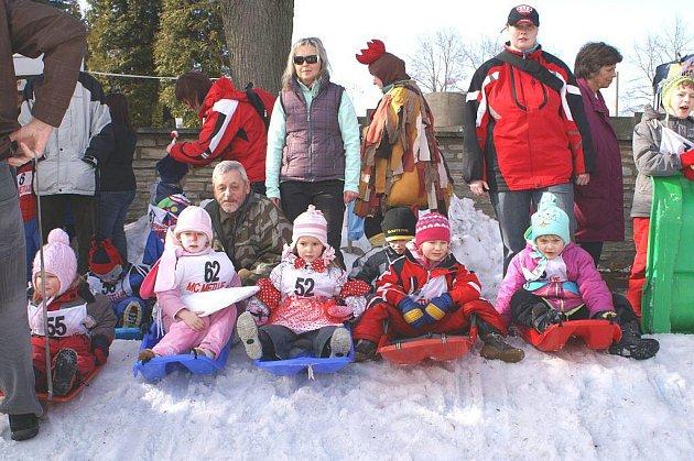 Zimní radovánky pro děti a dospělé.