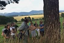 Lesní symposium s tématem Možnosti artikulace krajiny Kladského pomezí ve Vernéřovicích na Broumovsku.