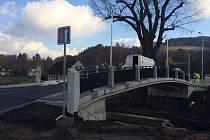 Nový most v Bělovsi.