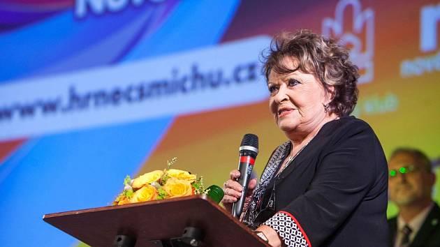 PATRONKA FESTIVALU Jiřina Bohdalová.