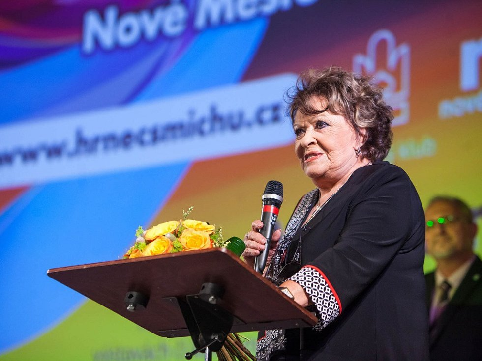 PATRONKA FESTIVALU Novoměstský hrnec Jiřina Bohdalová.