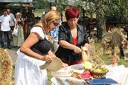 Křinice slaví letošní úrodu tradičními dožínkami.