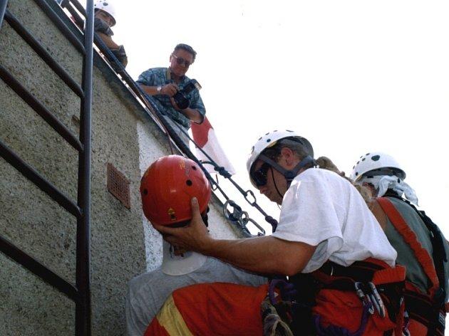Záchranáři budou soutěžit na Rozkoši.