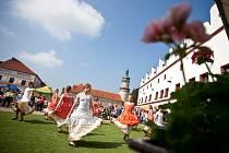 Tradiční akce Brány města dokořán v Novém Městě nad Metují.