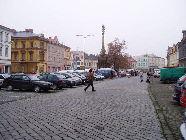Náměstí ČSA v Jaroměři. Ilustrační snímek.
