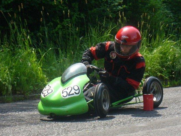 Petr Uhlíř, motokárový závodník z Náchodska.